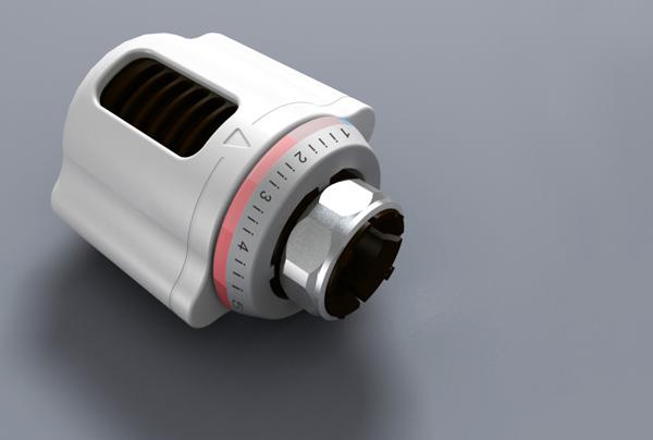 散热器温控阀的工作原理