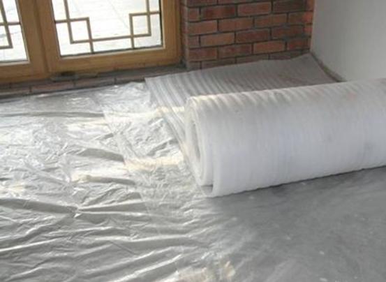 湿式地暖安装方法