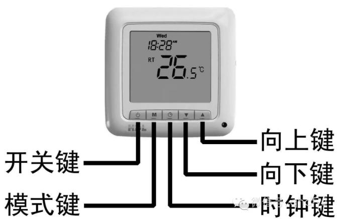 温控面板如何设置