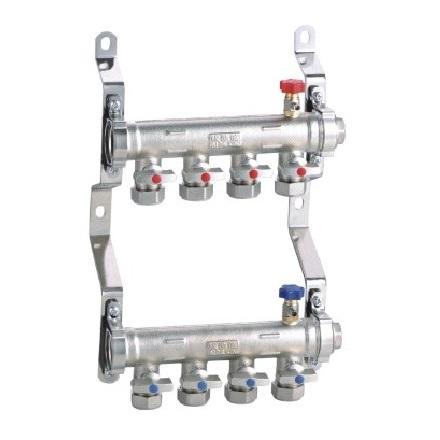 分水器 工程型 25*20-25-玉环埃德信地暖分水器